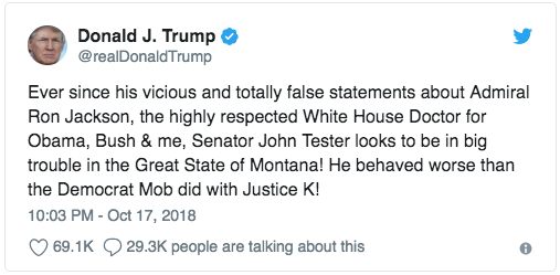 @RealDonaldTrump: Tester worse than the Democrat mob